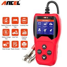 Automotive 12V Car Battery Tester 100-2000CCA Digital Car Battery Analyzer Tool