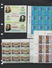 ECUADOR-BEAUTIFUL SELECTION -MULTIPLES-MNH-VERY FINE--SOME SETS-#1008