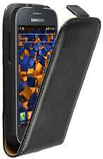 mumbi Lederasche für Samsung Galaxy Ace 3 Tasche Hülle Case Cover Flip-Case
