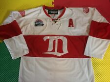 2009 Henrik Zutterberg Detroit Red Wings Fight Strap Hockey Jersey Men's Size 52