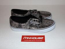 New Vans Authentic Snake Print Black Skateboard Shoes era vault Size 9