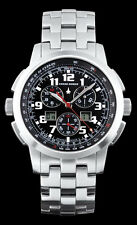 Men's CHASE DURER CENTRAL COMMAND Chronograph Watch, Black Dial