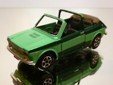 POLISTIL EL48 FIAT 127 CABRIOLET - TWO TONE GREEN 1:43 - GOOD CONDITION - 5