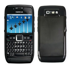 Original Black Nokia E71 Unlocked QWERTY 3G WIFI GPS Camera Mobile Bar Phone