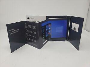 Microsoft Windows 10 Professional 32/64-Bit Retail Box USB Drive New Sealed