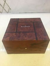 Magnificent Blancpain Wood Watch Box. Brand New with Inner/outer EC 700.068
