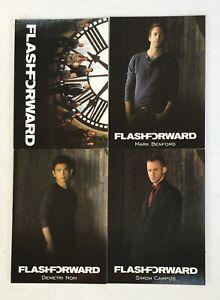 FlashForward Preview Card Set Rittenhouse FF1-FF4 Flash Forward