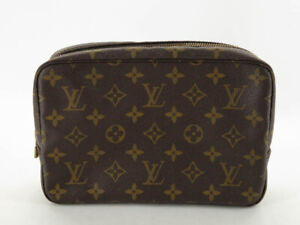 LOUIS VUITTON M47524 MONOGRAM TROUSSE TOILETTE 23 COSMETIC POUCH EY238