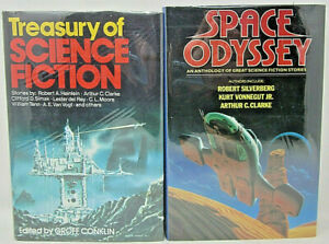 Treasury of Science Fiction Groff Conklin, Space Odyssey Anthology Octopus Books