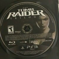 Tomb Raider: Trilogy (Sony PlayStation 3, 2011) PS3