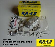 1/43 Ford Escort KitCar Evo II Rally Kit