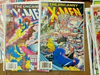 X-MEN Comics (Lot of 275) Uncanny Deluxe with storage box