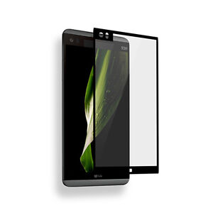 2pc 3D Full Cover Premium Tempered Glass Screen Protector Film Shield For LG V20