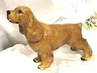 VINTAGE MORTEN'S STUDIO ROYAL DESIGNS COCKER SPANIEL PUPPY DOG FIGURE