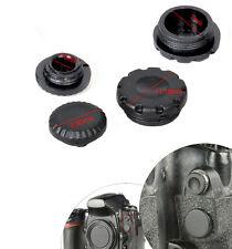 PROTEZIONI TAPPI Flash pc Sync Terminal Cap & 10-pin Remote Cover for Nikon Fuji