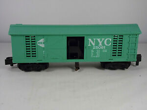 Vintage Tested Operating Hay Ejector Box Car American Flyer S Gauge NYC 25081
