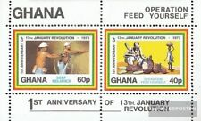 Ghana block49 (complete issue) unmounted mint / never hinged 1973 Revolution