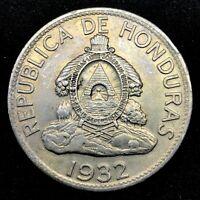 HONDURAS :1932 LEMPIRA  Lencas Leader - 0.900 SILVER- TONED- COIN - KM#75. #2