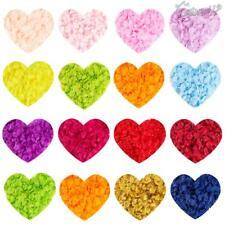 1000x Pétales De Rose En Soie Tissu Confettis Faux Fleur Artificielle Mariage