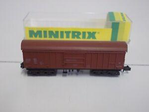Minitrix N    Schwenkdachwagen in EVP (NG782)