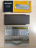 SHARP EL-5100 ELSI MATE, Scientific Calculator, Pocket Computer  #734