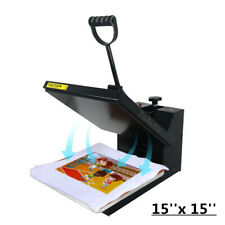 38*38CM Heat Press Transfer Sublimation Machine T-Shirt Printing Stamping 110V