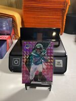 Denzel Mims 2020 Panini Mosaic Rookie Card RC Pink Camo Prizm Refractor Jets 🔥
