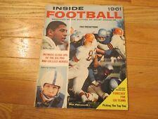 Ernie Davis Johnny Unitas Nick Pietrosante Football Sport Sports Magazine 1961
