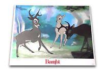 """Bambi"" Original 11x14 Authentic Lobby Card Poster Photo 1982 Walt Disney #11"