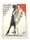 AUTHENTIC CHANEL COCO Sketch Karl Lagerfeld Card Necklace Earrings Jacket Hat