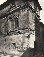 AUDE. Narbonne- Maison des Trios- Nourrices 1903 old antique print picture