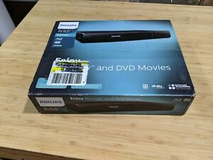 NEW Philips Blu-Ray & DVD Player Entertainment Movies Home Theater # BDP1502