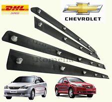 Kit 4PCS Moulding SIDE BAR DOOR Front Rear Fits Chevrolet Optra Lacetti Lh & Rh