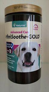 NATURVET ArthriSoothe-GOLD Level 3 Advance Care, 120 ChewTabs Exp: 11/23