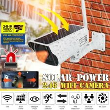 security camera wireless Wifi Camera  remote monitoring solar video alarm system