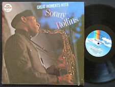 SONNY ROLLINS Great Moments 2 x LP MCA RECORDS MCA2-4127 US 1981 JAZZ NM