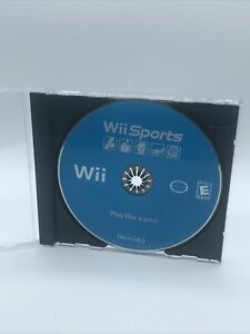 Nintendo Wii Sports Tested In Acceptable Condition Disc Only
