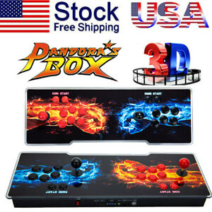 2021 New Version !  Pandora's Box 20S 4263 Games 2D/3D Video Game Double-players