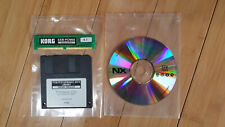Korg EXB-PCM05 Vintage Archives COMPLETE SET here needed !+ Factory Floppy Disk