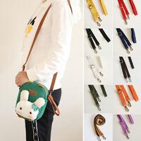 Candy Colors Adjustable Shoulder Bag DIY Canvas Strap Replacement Belt 130cm New