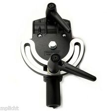 Manfrotto 123 neigegelenk para tubos ø 35 mm con casquillo 16mm fotográfica pivoting CLAMP