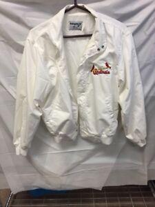 VINTAGE RETRO St. Louis Cardinals Swingster Jacket-Size M  White