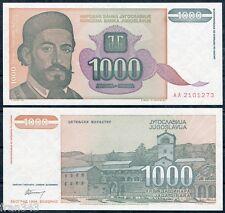 YUGOSLAVIA 1000 Dinara 1994 Pick 140   SC / UNC