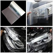 Car SUV Headlight Tailight Transparent Vinyl Wrap Film Sheet Cover Decal Sticker