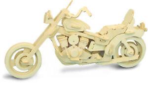 American Motocycle     QUAY Woodcraft Construction Kit FSC
