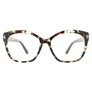 Tom Ford Glasses Frames FT5435 055 Coloured Havana Women