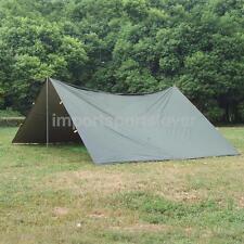 Large Tent Tarp Cover Tarpaulin Shelter Canopy Backpacking Camping Picnic