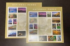 2x Sheets National Parks USPS Forever Stamps Sheet of 16 Postage Stamps 2016 NMH