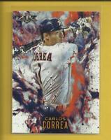 Carlos Correa 2016 Topps FIRE Insert Card # F-5 Houston Astros Baseball MLB