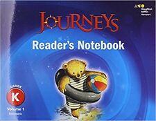Kindergarten Journeys Readers Notebook Volume 1 Grade K 2017 Student Edition